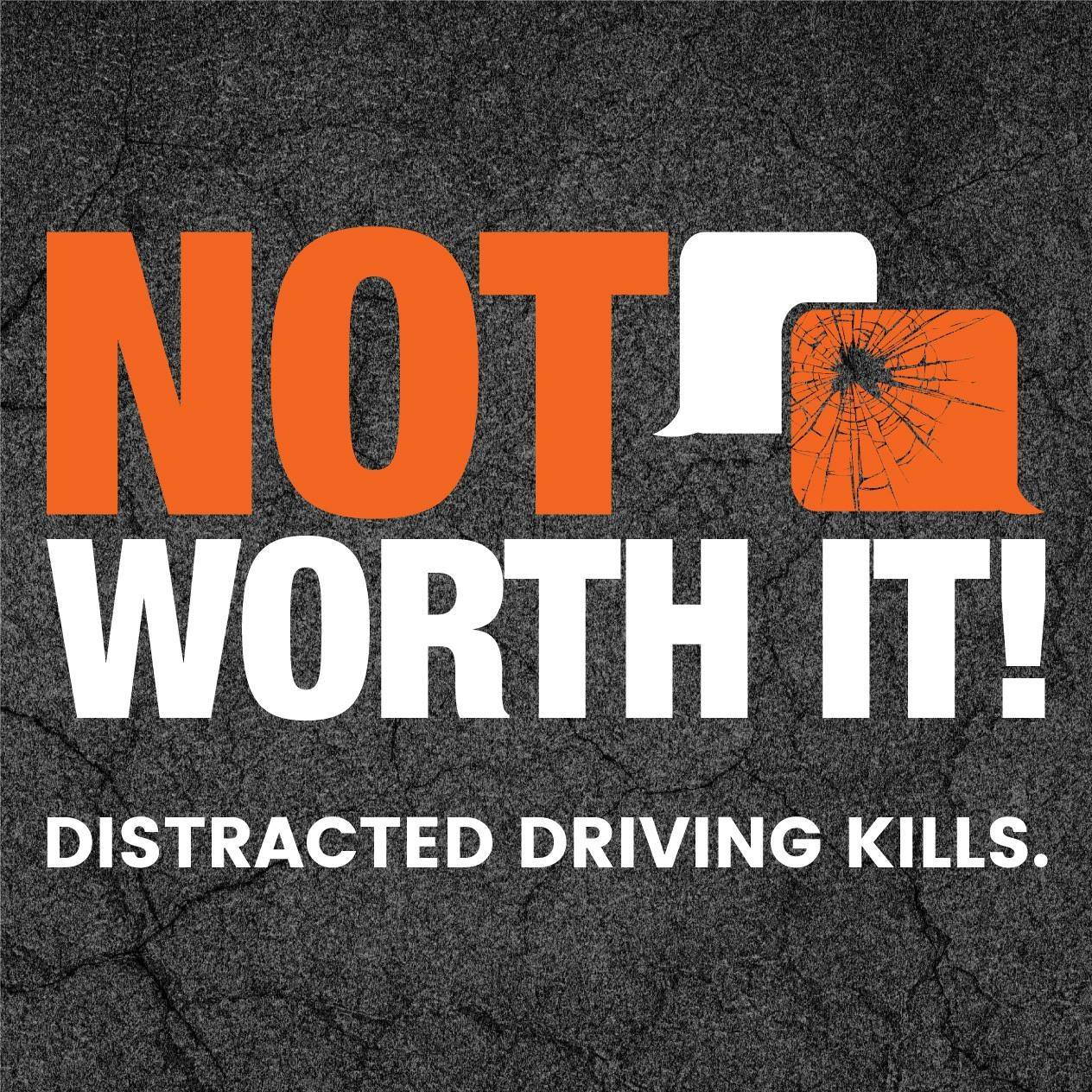 """distracted driving kills """"it was a combination of reckless driving and distracted driving that took the lives of officer griess and mr manuel and that is something that we are deeply saddened about."""
